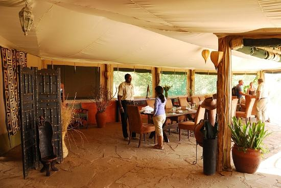 Kicheche Valley Camp: Dining