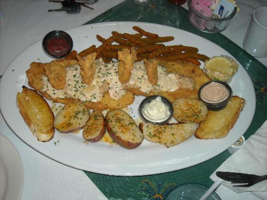 Taste Of New Orleans : Supremely cooked catfish fillet