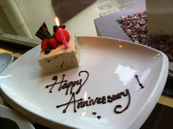Sutera Harbour Resort (The Pacific Sutera & The Magellan Sutera): anniversary cake