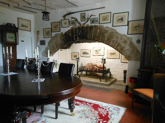 Plas Dinas Country House: the gun room