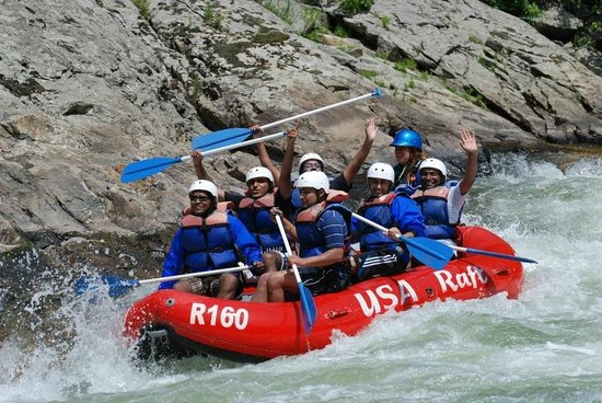 Marshall, Carolina del Norte: We love USA Raft!