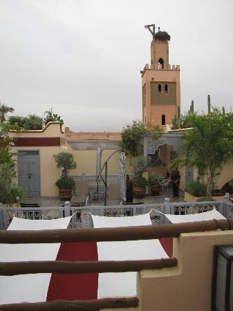 Riad Noos Noos: Roof terrace