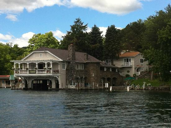 Boathouse Bed and Breakfast A Lake Castle Estate on Lake George: The Boathouse B&B