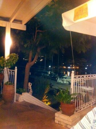 Kima Restaurant : view from the lower terrace