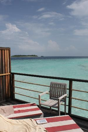 Reethi Beach Resort: View from the watervilla