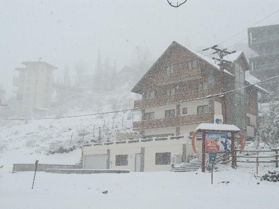 Chalet Valluga: en hotel con nieve