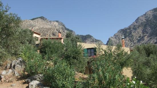 Eleonas: un cottage niché à flan de colline