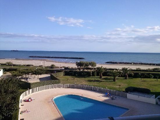 Pierre & Vacances Residence Les Rivages de Rochelongue: Vue de la terrasse