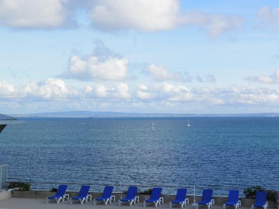 Pierre & Vacances Résidence Cap Morgat : vue du balcon