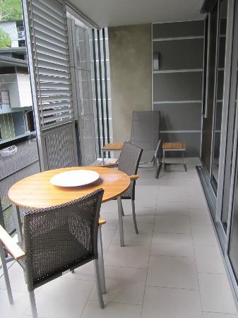 Peppers Noosa Resort and Villas: decent balcony