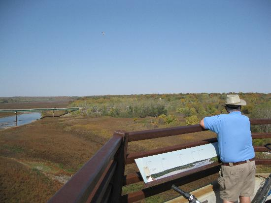 High Trestle Trail: September View from the Bridge