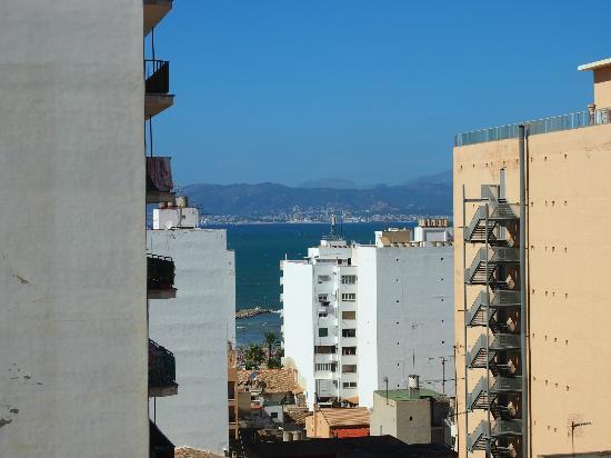 Hotel Pinero Tal: Ausblick vom Balkon