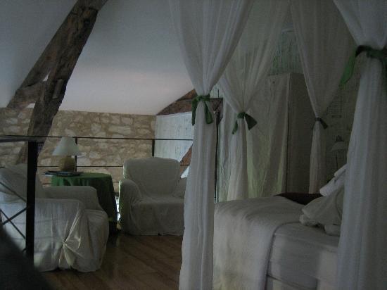 Puech Blanc: Slaapkamer (mezzanine) 