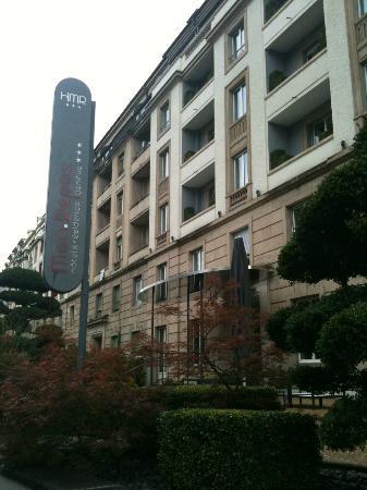 Hotel Mon-Repos : façade
