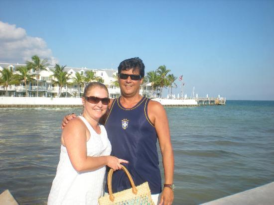 Southernmost Beach Resort: Em frente ao Hotel