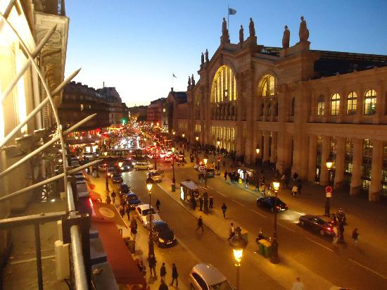 Gare Du Nord View