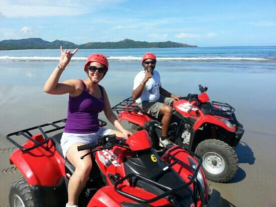 ‪‪Playa Conchal‬: Erik and Jose the tour guides Atv tour was amazing