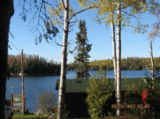 Loon Lake Lodge: View from the front of the Shack