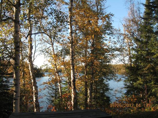 Loon Lake Lodge: Different view from the Shack