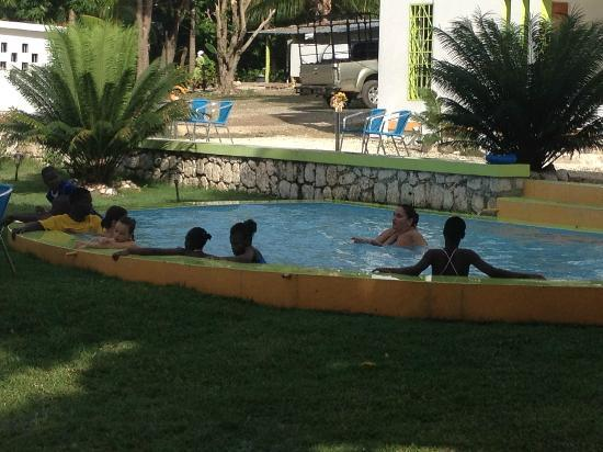 Hotel Kabic Beach Club Visiting Children From A Local Orphanage