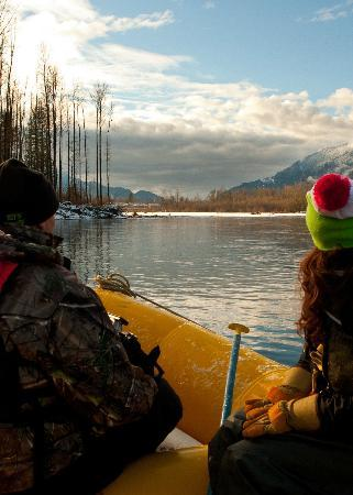 Squamish Rafting Company: Beautiful views on the river!