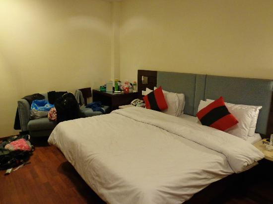 Hotel Aura: Our room during our second stay