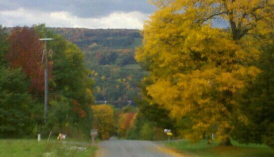 Keuka Lake and the Bluff from Sturdevant Rd