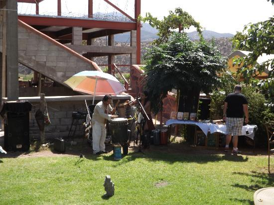 La Casa de Dona Lupe: Aztec performers