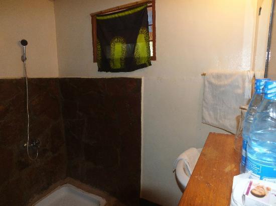 Serengeti Stop Over Lodge : Shower