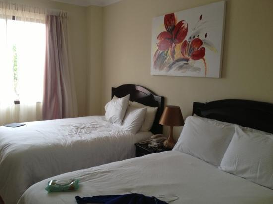 Galeria Hotel: Nice and comfortable rooms.