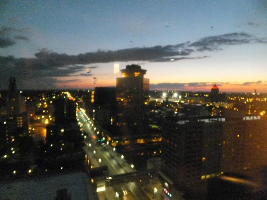 Hyatt Regency Rochester: Night time View