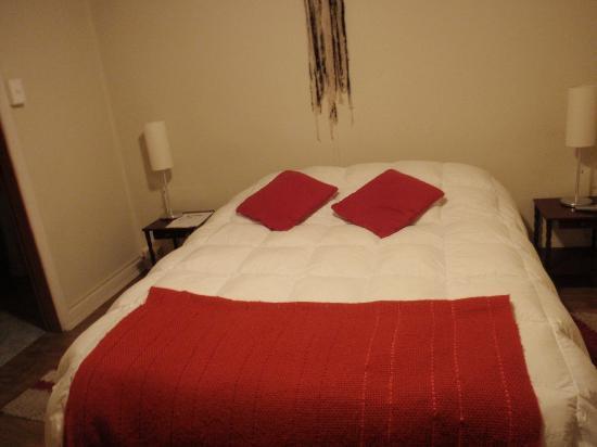Hostal Las Leñas: dormitorio matrimonial