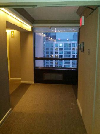 The Westin Harbour Castle: out of my room