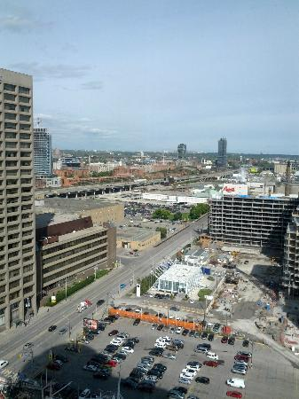 The Westin Harbour Castle: East faceing view