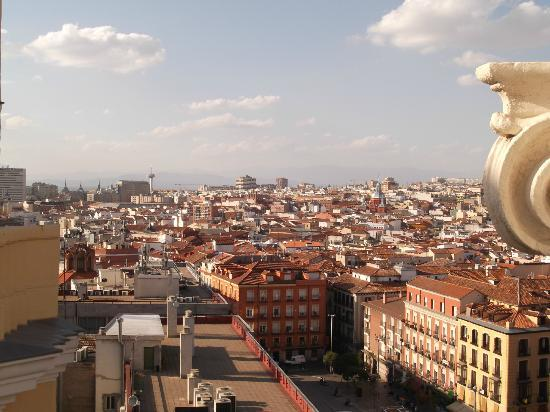 Hotel Atlantico: View from excellent rooftop bar