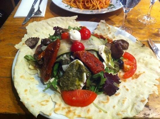 Fuxia: insalata melanzana