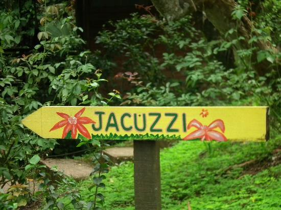 Samasati Retreat & Rainforest Sanctuary: must be the jacuzzi with the best view ever!