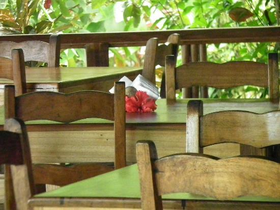 Samasati Retreat & Rainforest Sanctuary: the wonderful dining area