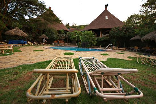 Mara Sopa Lodge: Pool area