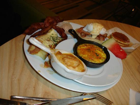 assortment of breakfast items picture of bacchanal buffet las rh tripadvisor com