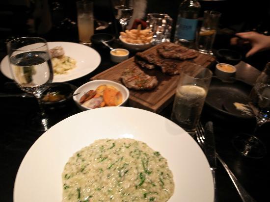 Gaucho Leeds: the food we ordered that night....amazing
