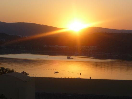 WOW Bodrum Resort: Sunrise, view from balcony.
