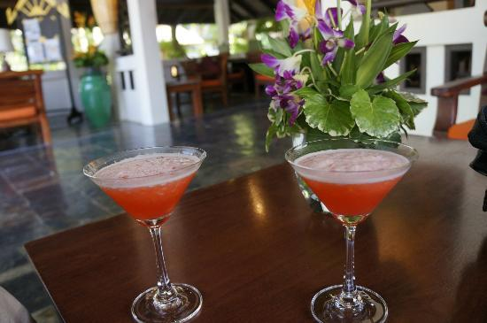 Holiday Inn Resort Phi Phi Island: Welcome drinks