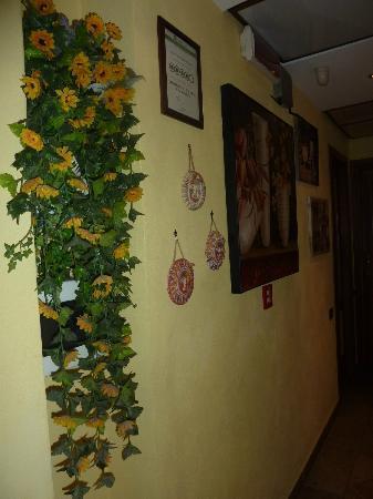 Hotel Europeo & Flowers: corridor