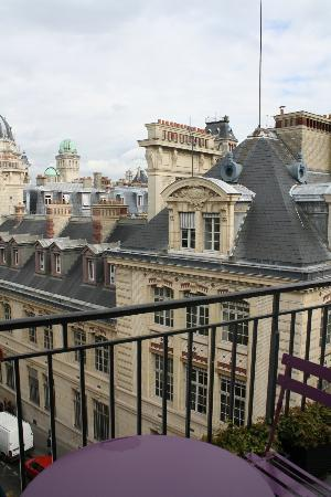Grand Hotel Saint-Michel: view