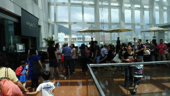 Simplylife Bakery Cafe: Long queue at Simplylife