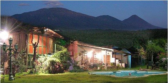 Juayua, El Salvador: FACHADA DE NUESTRO HOTEL!!