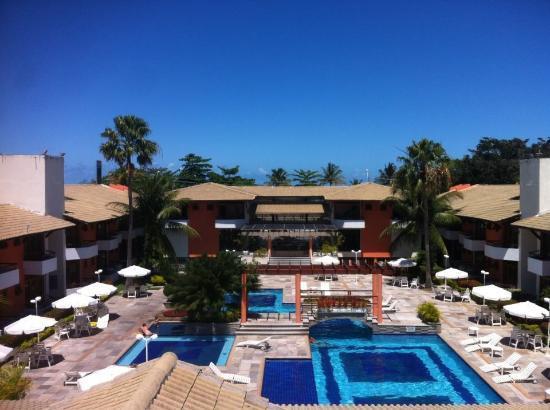 Naturamaterialien lassen das Hotel gemütlich und einladend aussehen