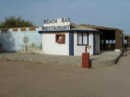 El Samaka Beach Hotel: Strandbar