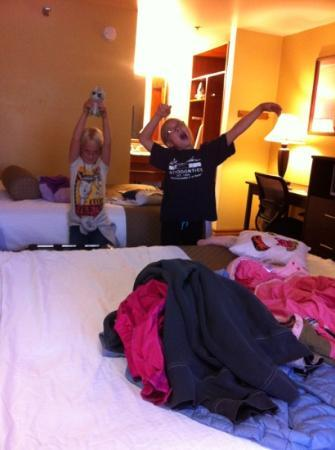 Best Western Plus Rio Grande Inn: our room - small but fine